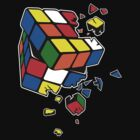 Exploding Cube by zomboy