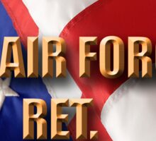 USAF RET Sticker