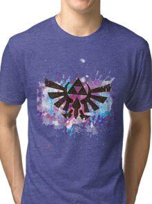 Triforce Emblem Splash Tri-blend T-Shirt