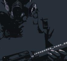 Posterized Counter Terrorist Sticker