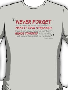 make it your armour T-Shirt