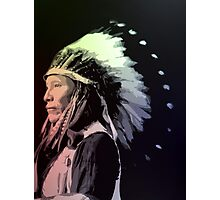 Afraid Of Eagle - Sioux Photographic Print