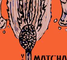 MATCH-APE-MONKEY Sticker