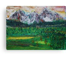 Kananaskis Beauty Canvas Print