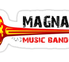 Magna Music Band Clothing and stickers Sticker