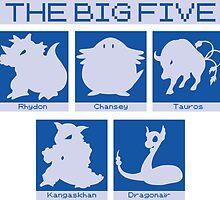 The Big Five (Dragonair) by daveit