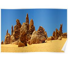 Nambung Pinnacles Poster