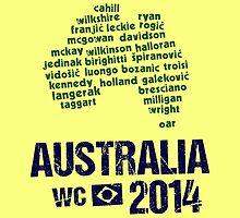 Australia WC 2014 by Bergsjo