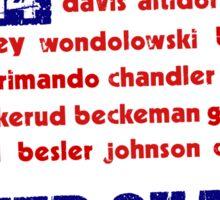 United States WC 2014 Sticker