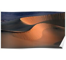 Death Valley Dunes California Poster