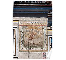 The 1503 sun dial Poster
