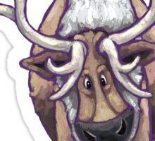 Animal Parade Reindeer Silhouette Sticker