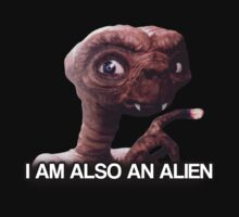 I am also an alien - TGWTDT shirt. by niedermann