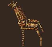 OMG A GIRAFFE! by Thur