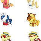 Sleepy Ponies - Colt Set by JimHiro