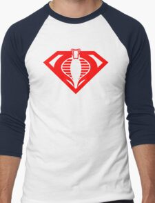 Super Cobra Men's Baseball ¾ T-Shirt