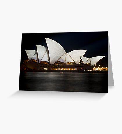 Vivid Opera Greeting Card