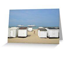 Calais plage Greeting Card