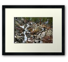 Grover Hot Springs, California Framed Print