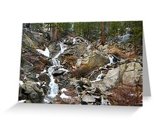 Grover Hot Springs, California Greeting Card