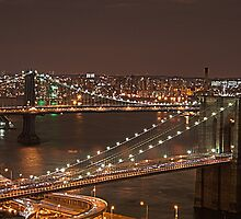 Brooklyn Bridge, NYC by Zach Chadim
