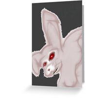 The Dustbunny Greeting Card