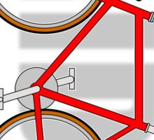 The Bicycle. Ride. Sticker (please see description) and Card Sticker