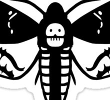 Death's-Head Hawk Moth Sticker
