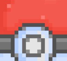 Pixel Poké Ball Sticker