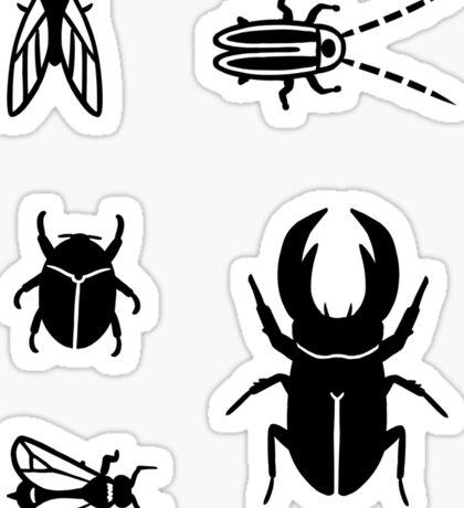 Assorted Bugs Sticker