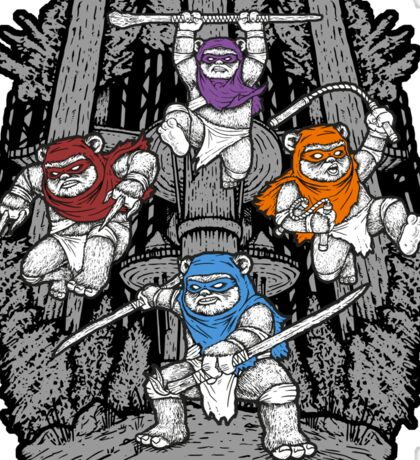The Ninja Savages  (sticker version) Sticker