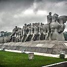Monumento as Bandeiras by Zach Chadim