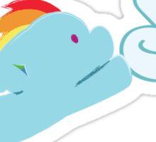 Baby My Little Ponies - Rainbow Dash Sticker