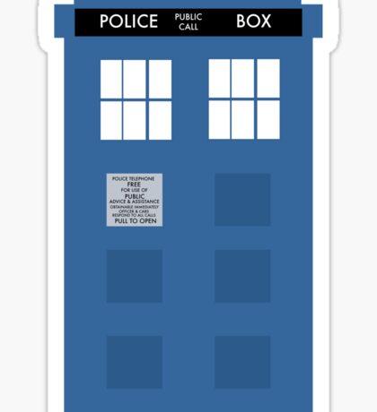 TARDIS - Doctor Who - Police Box Sticker