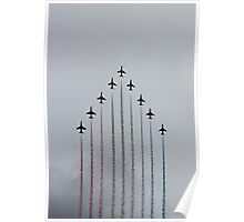 Red Arrows vertical Poster