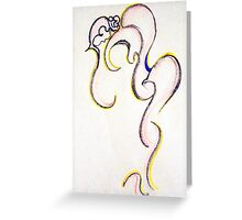 DIS-HEARTENED Greeting Card