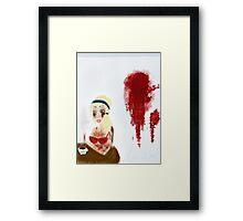 Morning After Murder  Framed Print
