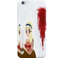 Morning After Murder  iPhone Case/Skin