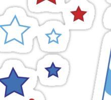 Little Firecracker 4th of July  Sticker