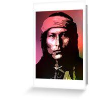Naichez - Chiricahua Apache Greeting Card