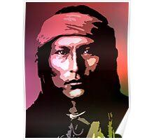 Naichez - Chiricahua Apache Poster