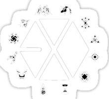 EXO K-POP Sticker