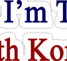 Yes I'm That South Korean Sticker
