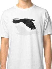 Huginn and Muninn [with runes] Classic T-Shirt