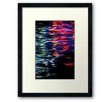 Water Colours IV Framed Print