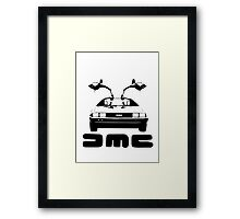 DeLorean DMC Framed Print