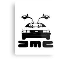 DeLorean DMC Metal Print