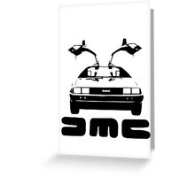DeLorean DMC Greeting Card