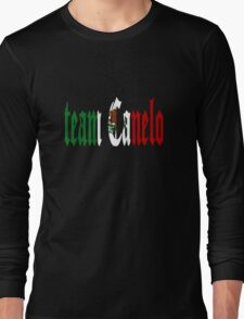 Team Canelo Alvarez Long Sleeve T-Shirt
