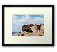 Rock Mother and Child Framed Print
